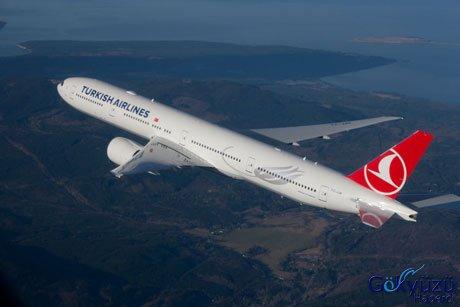 Türk hava yollarının yeni boeing 777 uçakları türk hava