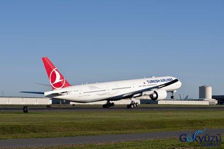 Hava yollarının yeni boeing 777 uçakları türk hava yollarının