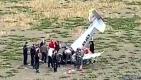 Büyükçekmece'de AYJET eğitim uçağı düştü(video)