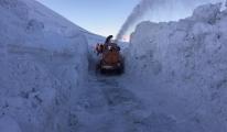 10 gündür kardan kapalı Ağrı(video)