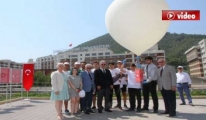 15 Temmuz Şehitleri İçin Yüksek İrtifa Balonu Havalandı