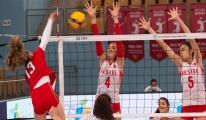 16 Yaş Altı Kız Voleybol Milli Takımı galibiyetle başladı