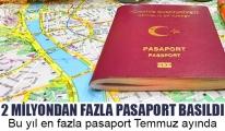 2 MİLYONDAN FAZLA PASAPORT BASILDI