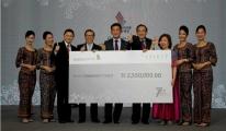 2.55 Milyon Singapur Doları Değerinde Bağış Topladı