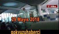 29 Mayıs 2018 3. Havalimanı terminal içi son hali!video