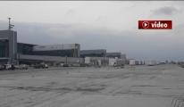 3. Havalimanı 20 Şubat 2018 Apron ve Körükler !video