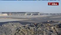 3. Havalimanı açılışına 115 gün kaldı!video