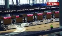 3. Havalimanı check-in bankoları 14 Mart 2018! video
