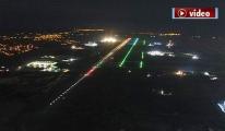 İstanbul 3. Havalimanı Gece Işıl Işıl!video