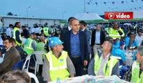 3. Havalimanı inşaatı Çalışanları iftarda Buluştu video