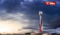 3. Havalimanı Kulesi Hayran Bırakıyor