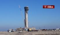 3. Havalimanı Kulesini Çalışan Görüntüledi video