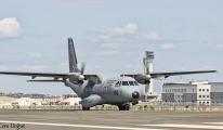 3. Havalimanı'na ilk askeri uçak indi!