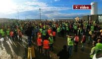 3. Havalimanı'nda 400 işçi gözaltına alındı!video