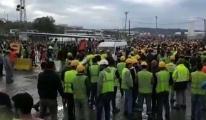 3. Havalimanı'nda eyleme katılanlardan 24'üne tutuklama!