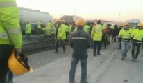 3. Havalimanı'nda işçiler eylem yaptı!