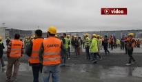 3. Havalimanı'nda İşçiler isyan etti!video