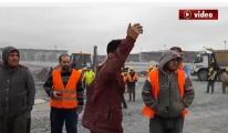 3 havalimanı'nda işçiler yine protesto ettiler!video