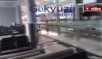 3. Havalimanı'nda terminali su bastı!video