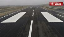 3. Havalimanı pisti havadan görüntülendi video