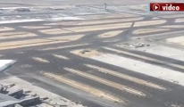 3. Havalimanı pistleri havadan görüntülendi!