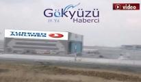 3. Havalimanı THY Teknik hangarı son hali!video