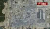 3. Havalimanı uzaydan görüntülendi video