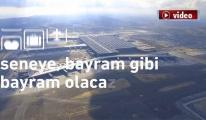 3. Havalimanı video ile bayram kutladı!