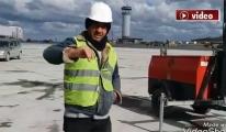 3. Havalimanı'nda pist seferberliği!video