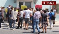 3. havalimanını protesto eden gruba vatandaş tepkisi video