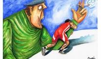 3. Uluslararası Yeşilay Karikatür Yarışması'nda Büyük Ödülün Sahibi Türkiye'den...