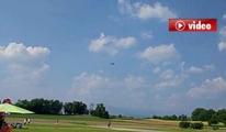 35 Bin Dolarlık Kumandalı Jet Uçak Yere Çakıldı