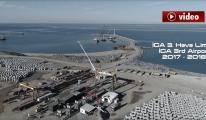 3.Havalimanı (İGA) Deniz İnşaatı 25 Mayıs 2018 ! video