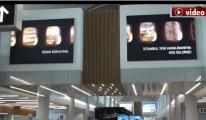 '3.Havalimani'nda Hoşgeldiniz' panoları!video