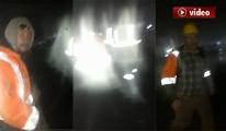 3.Havalimanı'nda işçilerin yürek burkan görüntüleri!video