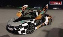 3.Havalimanı'nda BMW İ8 tipi follow me aracı!video