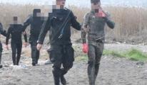 4 kaçak midye avcısı yakalandı