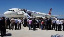 THY Kastamonu Havaalanına ilk seferini düzenledi