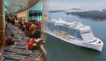 6 bin kişilik gemi koronavirüs şüphesiyle karantinaya alındı!