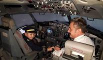 8 Yaşındaki Aygün'ün Pilotluk Hayali Gerçek Oldu