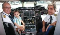Onur Air pilotu Mehmet Altan Göklere veda etti