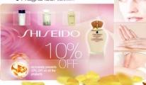 Atü Duty Free mağazasında Japon Mucizesi Shiseido