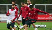 A Milli Futbol Takımı, Almanya'daki son antrenmanını yaptı