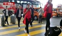 A Milli Kadın Basketbol Takımı, Slovenya'ya Gitti