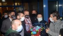 Abdullah Avcı'ya Trabzon'da coşkulu karşılama