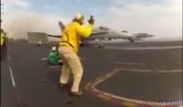 Adam işinden çok zevk alıyor(video)