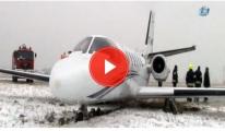 Adnan Polat'ın İçinde Bulunduğu Jet, Pistten Çıktı video