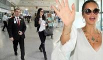 Adriana Lima Miami'ye Yalnız Döndü