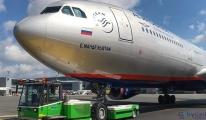 Aeroflot Havayolları İstanbul Havalimanı'nda