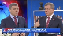 Ahmet Davutoğlu FOX TV'de (video)